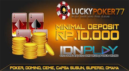 Promo Bonus New Member Terbesar Bersama LuckyPoker77