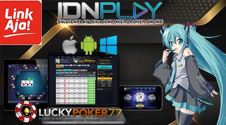 Daftar Poker IdnPlay Menggunakan LinkAja