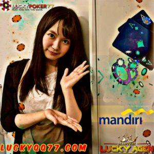 Poker Online uang Asli Deposit Bank Mandiri